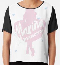 Marina and the diamonds Chiffon Top