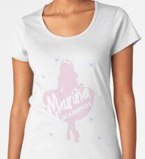Marina and the diamonds Women's Premium T-Shirt