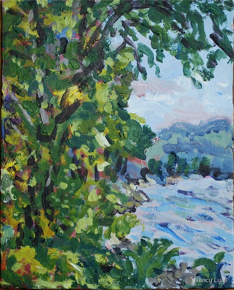 """Lefaivre, Ottawa River"" by Nancy Lyall"