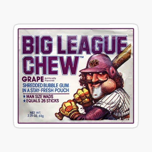Big League Chew Sticker