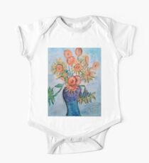 Sunflowers at the Front One Piece - Short Sleeve