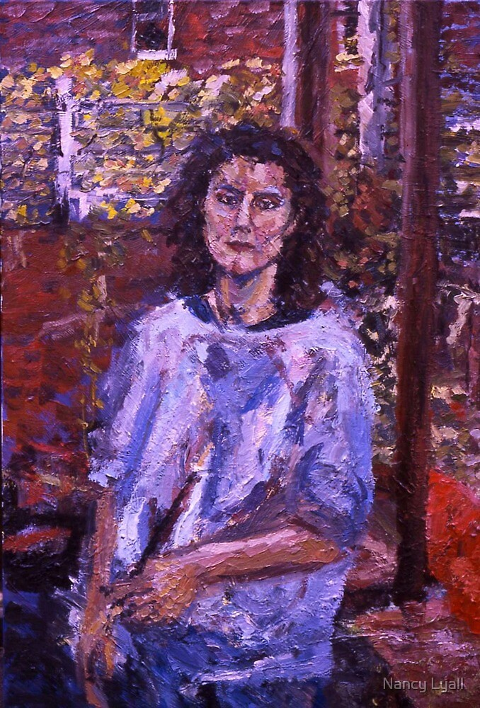 """Self Portrait"" by Nancy Lyall"