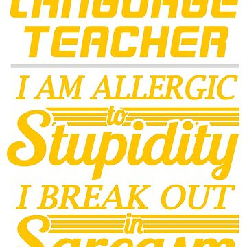 LANGUAGE TEACHER by savanalumin