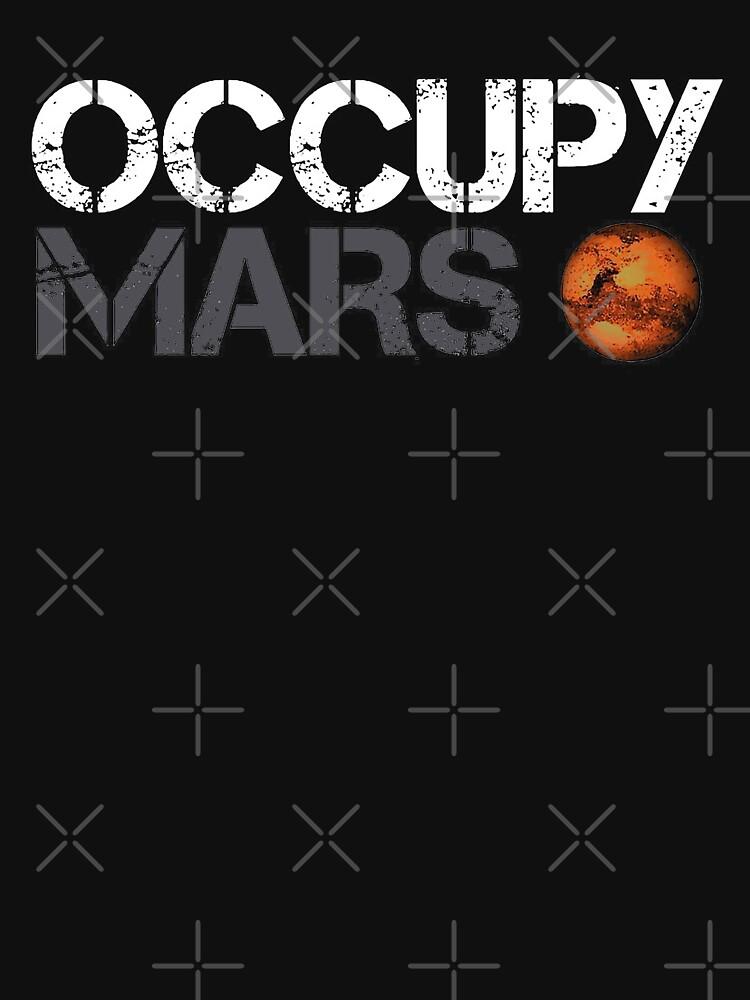 Besetze Mars Weiß von khurst