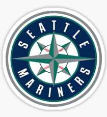 Seattle Mariners Baseball Club Sticker