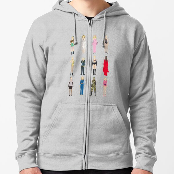 Outfits of Madge Fashion Zipped Hoodie