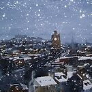 Snow On Edinburgh 9 by Ross Macintyre