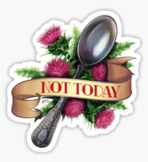 Not Today Spoon Sticker
