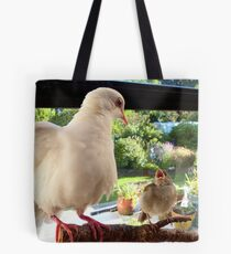 Feed YOU? ... You Must Be Joking! - Dove & Sparrow - NZ Tote Bag