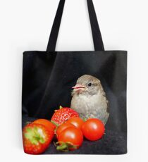 Yum... Rescued Sparrow - NZ Tote Bag