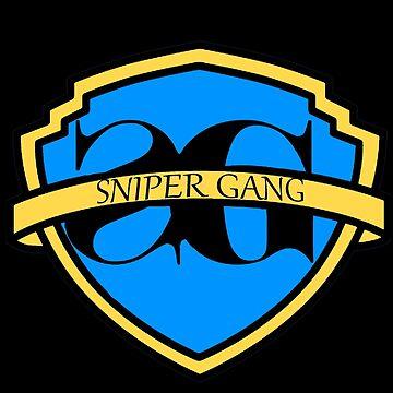 SNIPER GANG - WB LOGO by NoahandSons