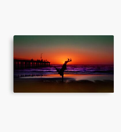 Colour Show.. Canvas Print