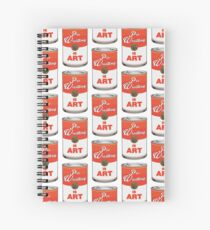Pro Wrestling is (pop) Art - Colour Spiral Notebook