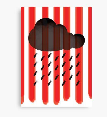 When it reigns, it pours. Canvas Print