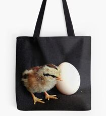 I'll Wait For You... Silver Duck-wing Chick - NZ Tote Bag