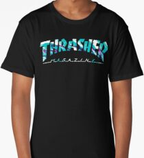 thrasher 90's print logo Long T-Shirt