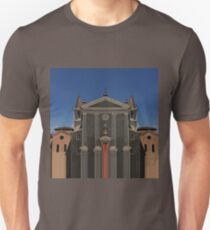 """Rationalized faith structures - study n.5 (or """"the black church"""") Unisex T-Shirt"""
