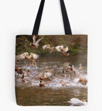This Is Chaotic - Mallard Ducks - NZ Tote Bag