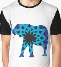 Blue Blue Black Graphic T-Shirt