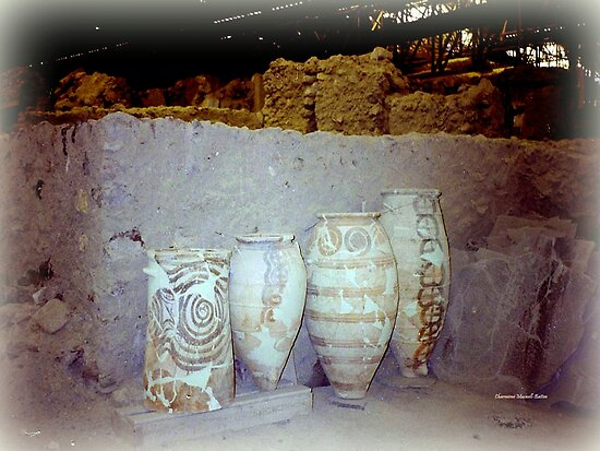 Ancient Minoan Art by Charmiene Maxwell-Batten