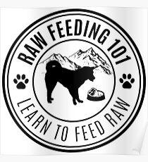 Raw Feeding 101 - Learn To Feed Raw Poster