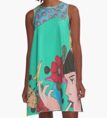 Mia Wallace Fan Art A-Line Dress