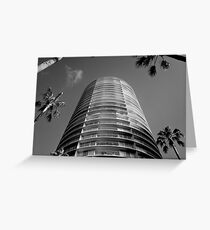 International Tower Greeting Card