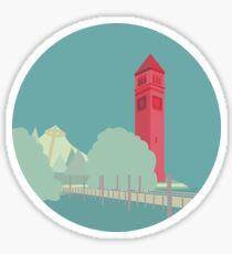 The Clocktower Sticker