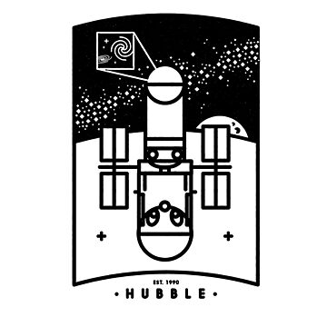 Hubble by gintron