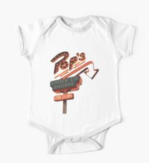 Pops Chock'lit Shoppe Riverdale Baby Body Kurzarm