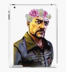 pete's flower headband iPad Case/Skin