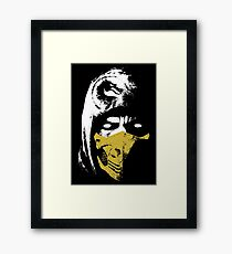 The X of Scorpions Framed Print