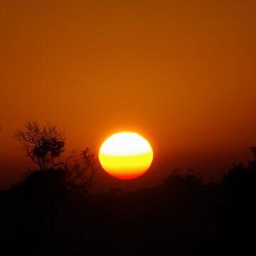 Sunrise over the Island by UncaDeej