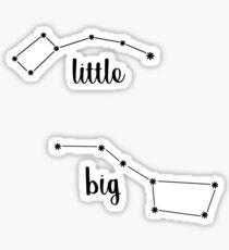 Big Little Dipper Sticker