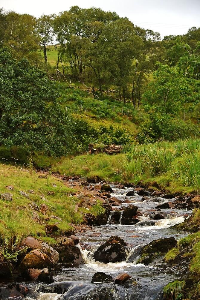 Scottish Stream by photosbyJT