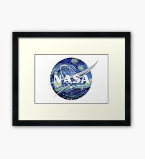 Starry NASA Framed Print