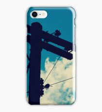 Power Line Silhouette (26 Product Options) iPhone Case/Skin