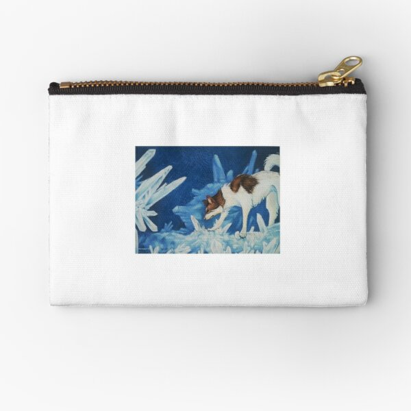 Baldr and the Crystals Zipper Pouch