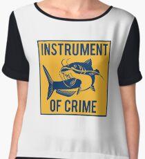 Instrument of Crime Chiffon Top