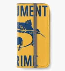 Instrument of Crime iPhone Wallet/Case/Skin