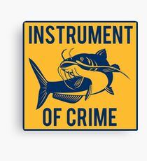 Instrument of Crime Canvas Print