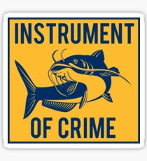 Instrument of Crime Sticker