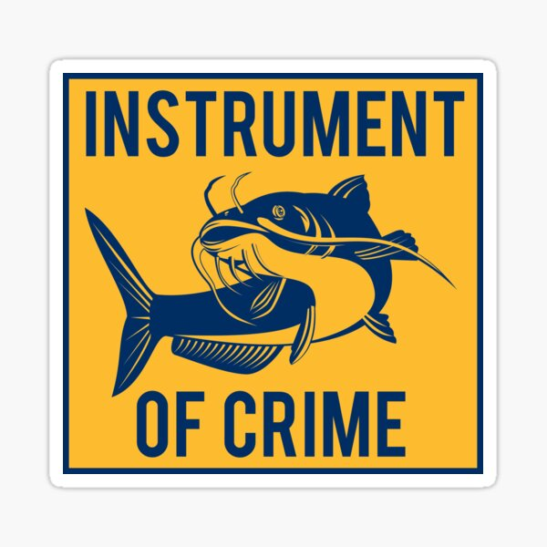 Instrument of Crime Sticker