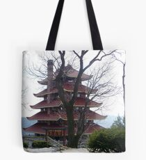Pagoda on the Mountain Tote Bag