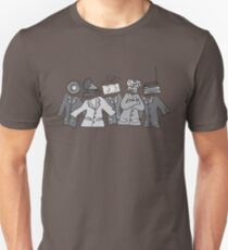 Camiseta ajustada Soldados analógicos