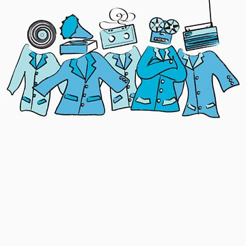 Analog Soldiers (blue) by chaton