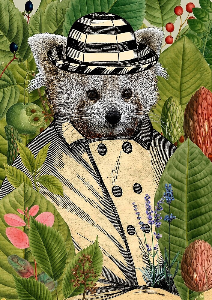Panda Print by SaturnPrint