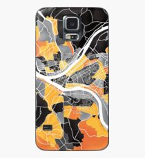 Pittsburgh Map Case/Skin for Samsung Galaxy
