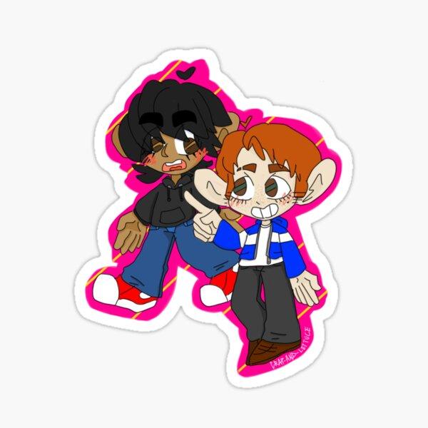 Cole and Jay, Ninjago Sticker