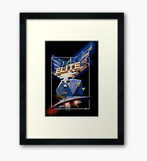 Elite Retro Game Design Framed Print